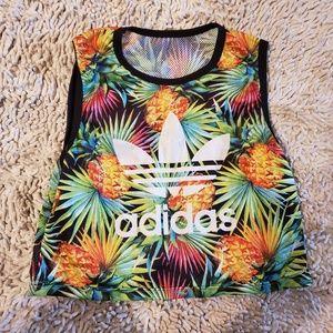 Adidas Tropical Crop Top